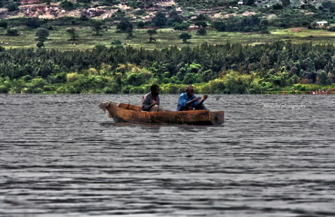 The People of Nile. Location: Nile River, Uganda.